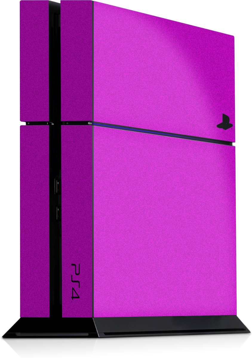 Playstation 4 Console Skin Faded Roze