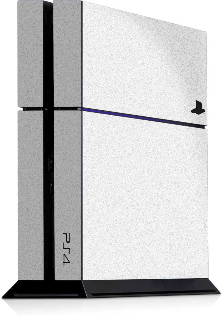 Playstation 4 Console Skin Faded Wit