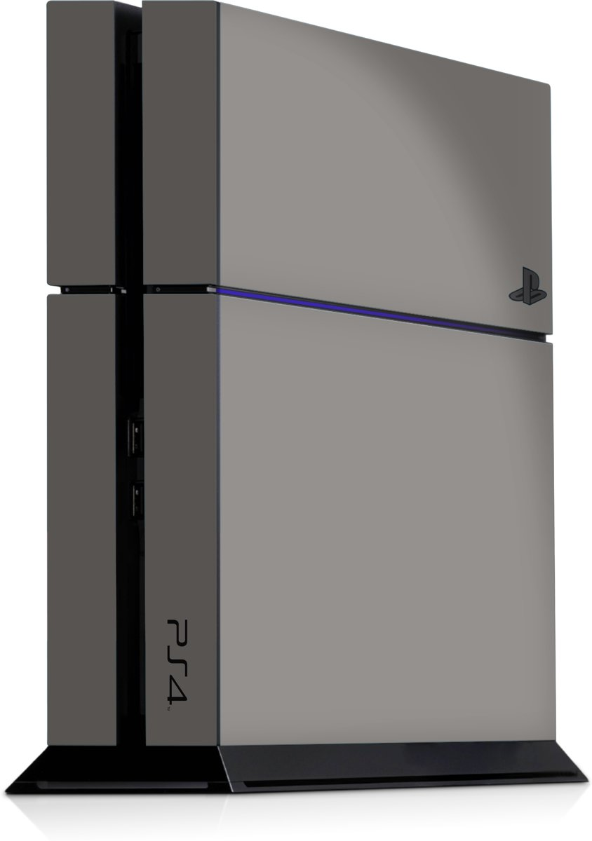 Playstation 4 Console Skin Grijs