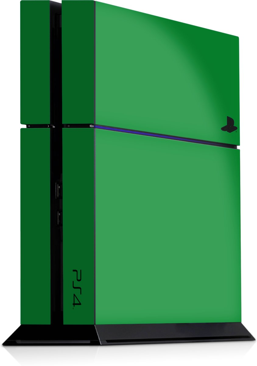 Playstation 4 Console Skin Groen