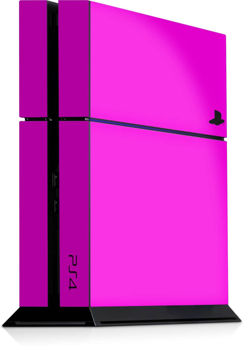 Playstation 4 Console Skin Roze