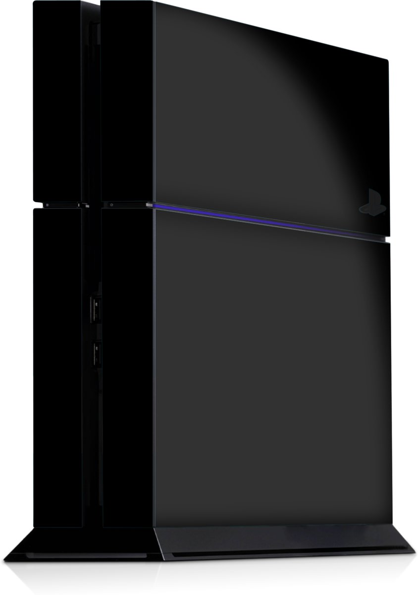 Playstation 4 Console Skin Zwart