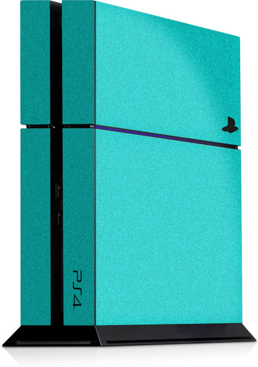 Playstation 4 Console Sticker Faded Lichtblauw-PS4 Skin