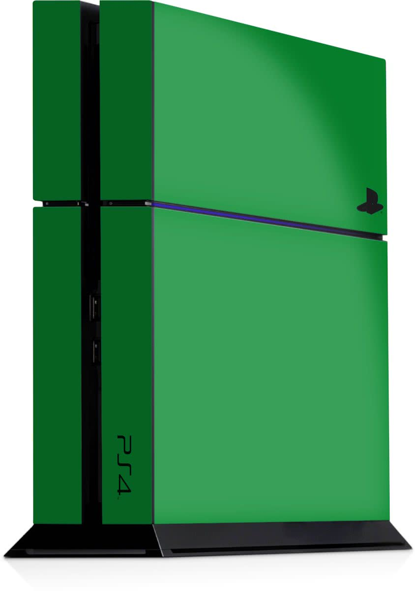 Playstation 4 Console Sticker Groen-PS4 Skin