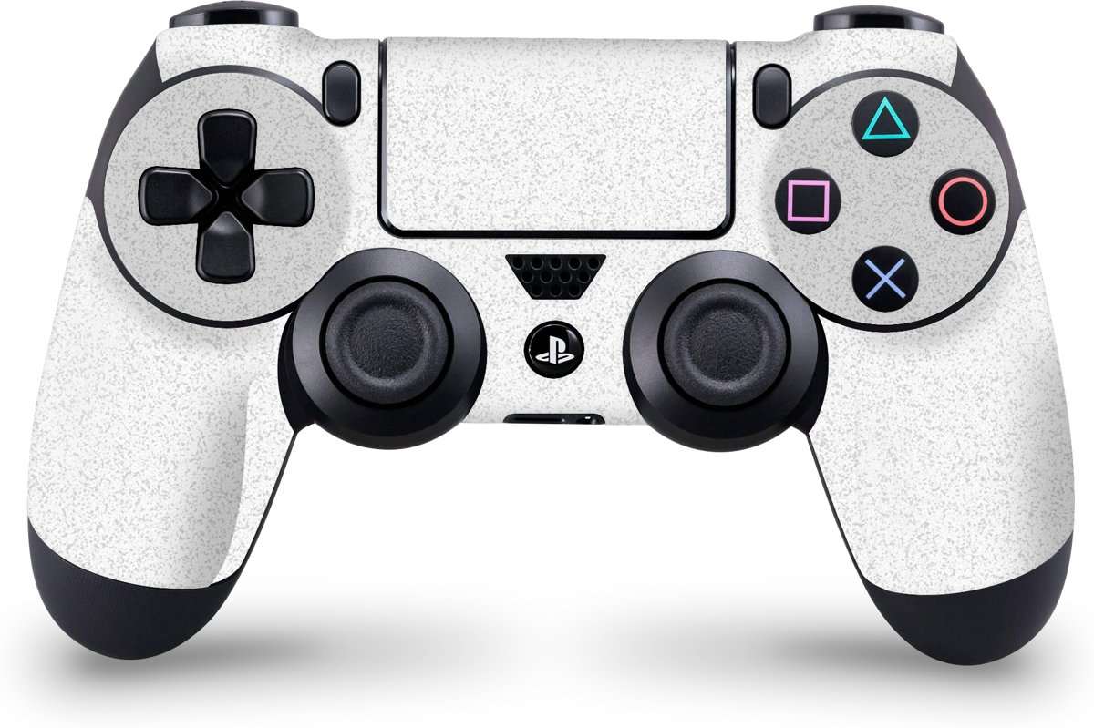Playstation 4 Controller Skin Faded Wit- PS4 Controller Sticker