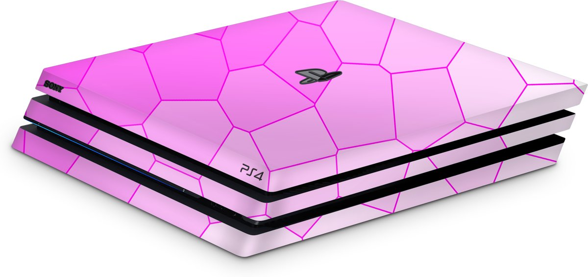 Playstation 4 Pro Console Skin Cell Roze