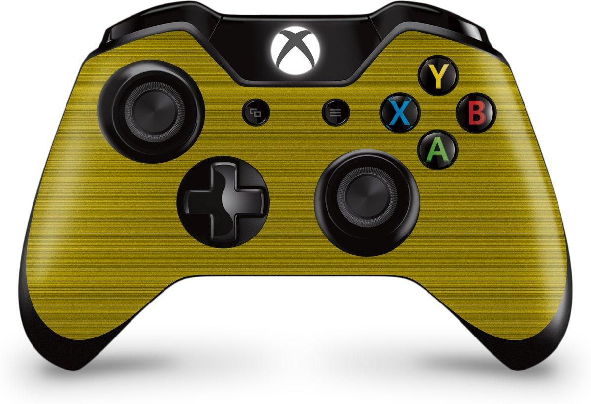 Xbox One Controller Skin Brushed Geel