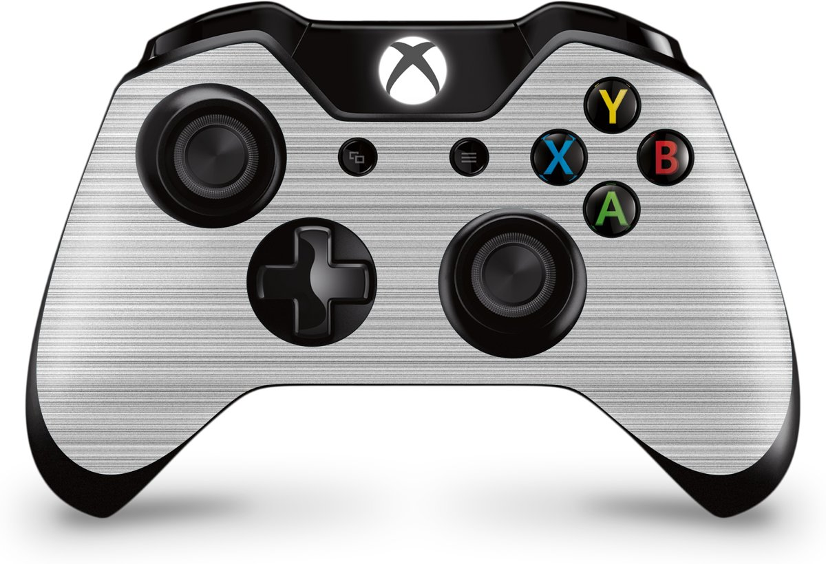 Xbox One Controller Skin Brushed Wit