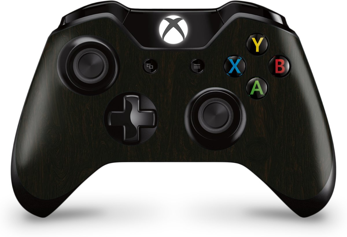 Xbox One Controller Skin Wood Donker