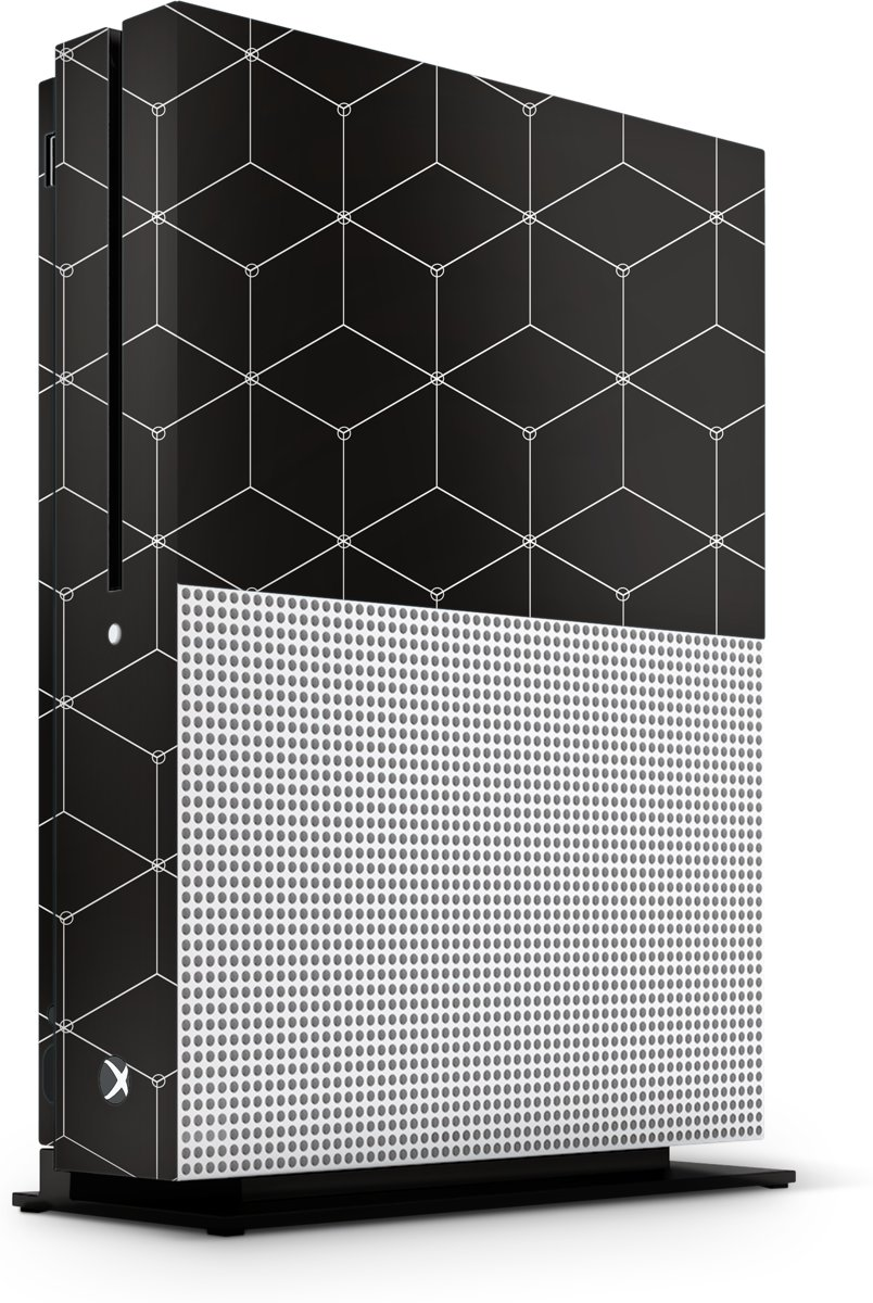 Xbox One S Console Skin Hexagon Wit