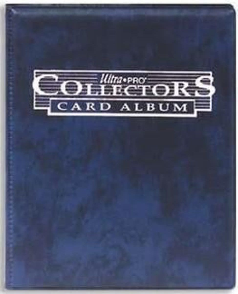9-Pocket Portfolio Collectors Blue