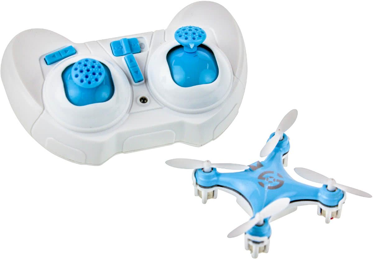 United Entertainment - Cheerson CX10 - Quadcopter - 2.4Ghz 4Channel - Blauw