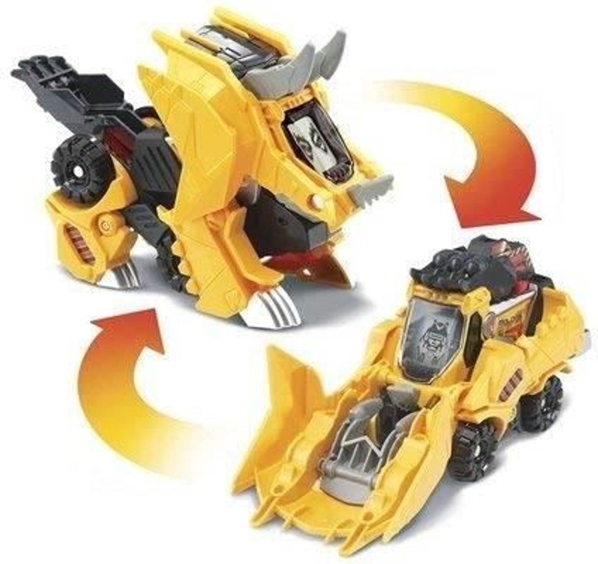 Switch & Go Dinos - Super Triceratops Molops (backhoe)