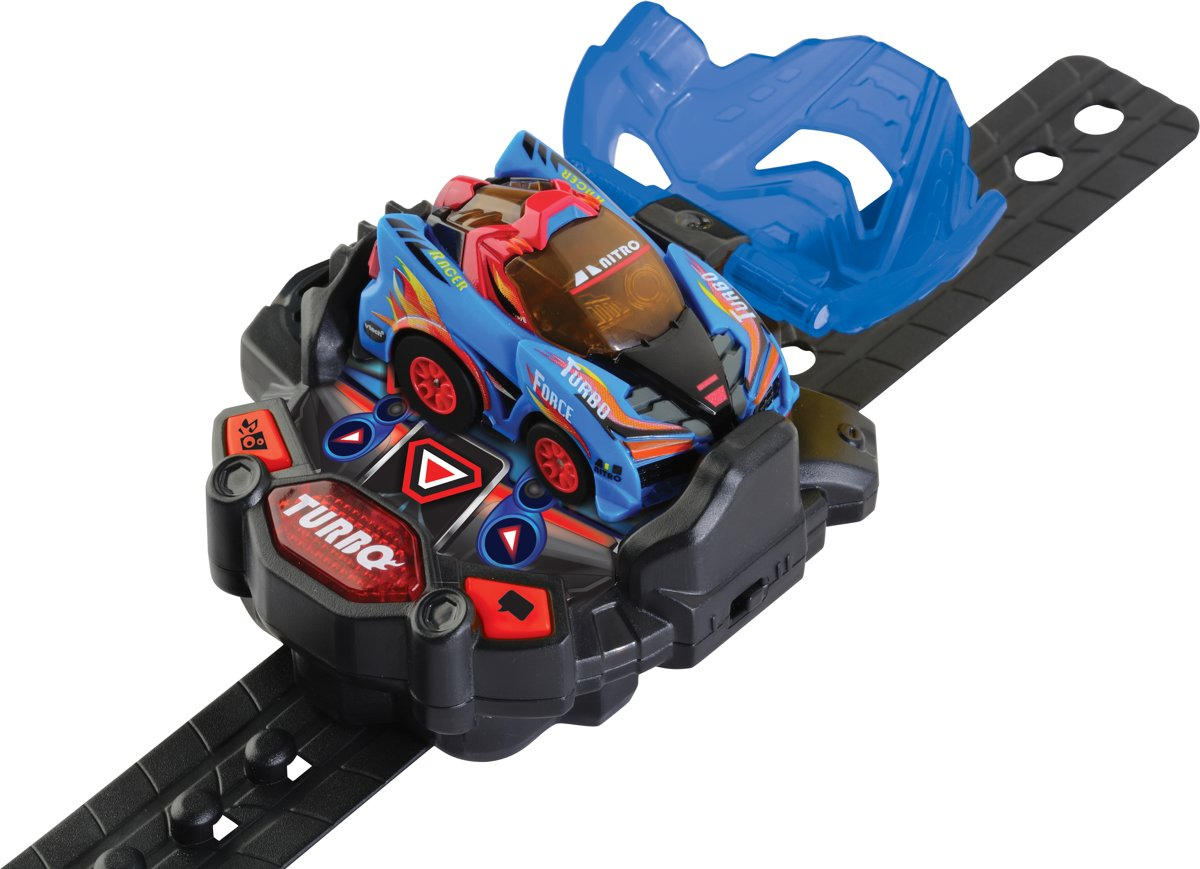 VTech Turbo Force Racers Blue Racer - Raceauto