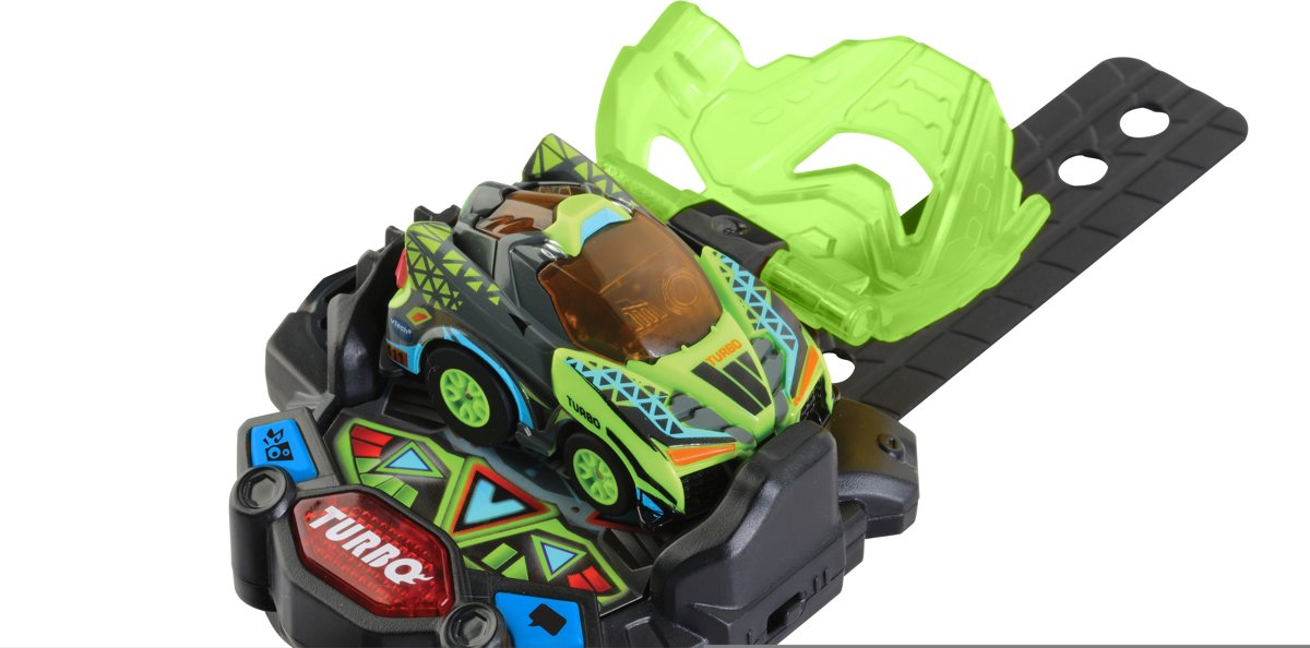 VTech Turbo Force Racers Green Racer - Raceauto