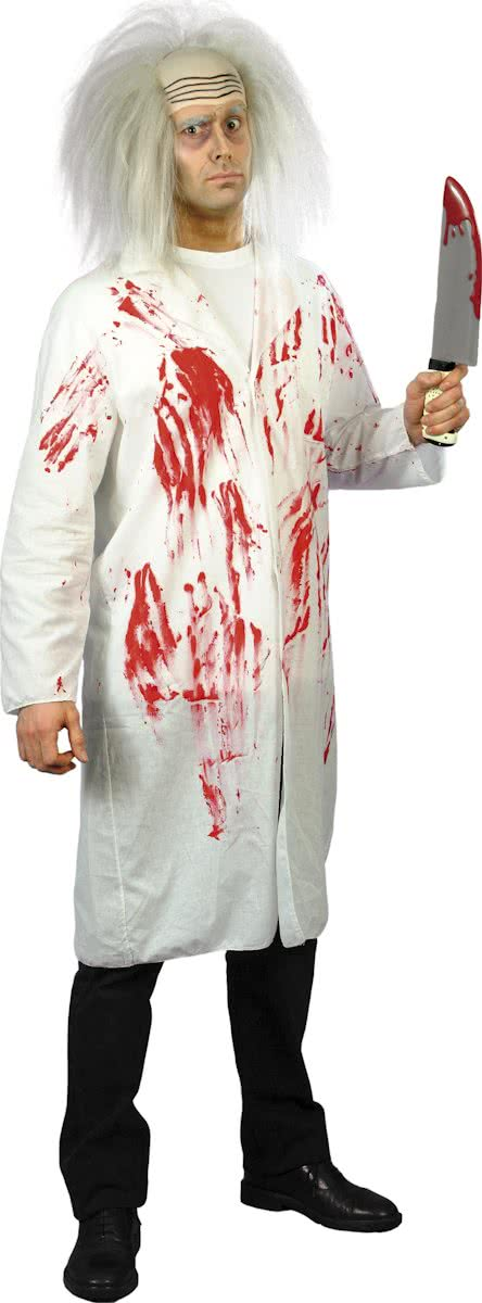 Doctors Coat With Blood