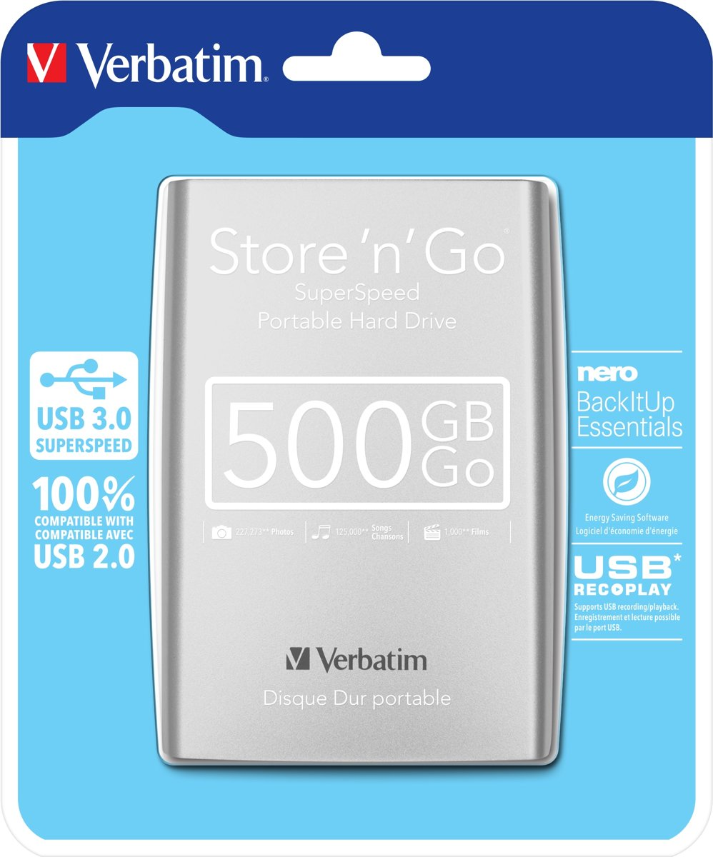 Store n Go Super Speed -   - 500 GB