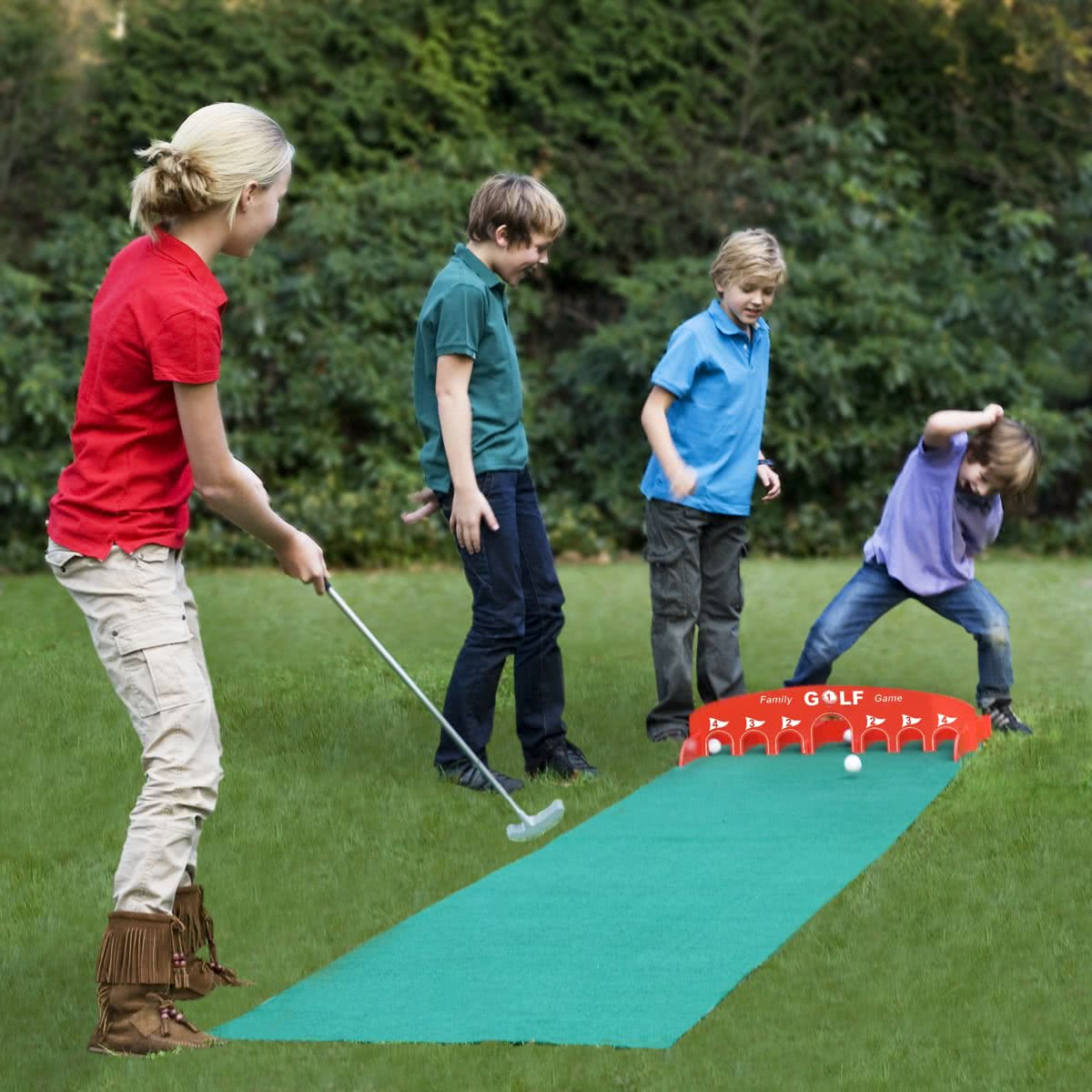 Family Golf Spel Golfset