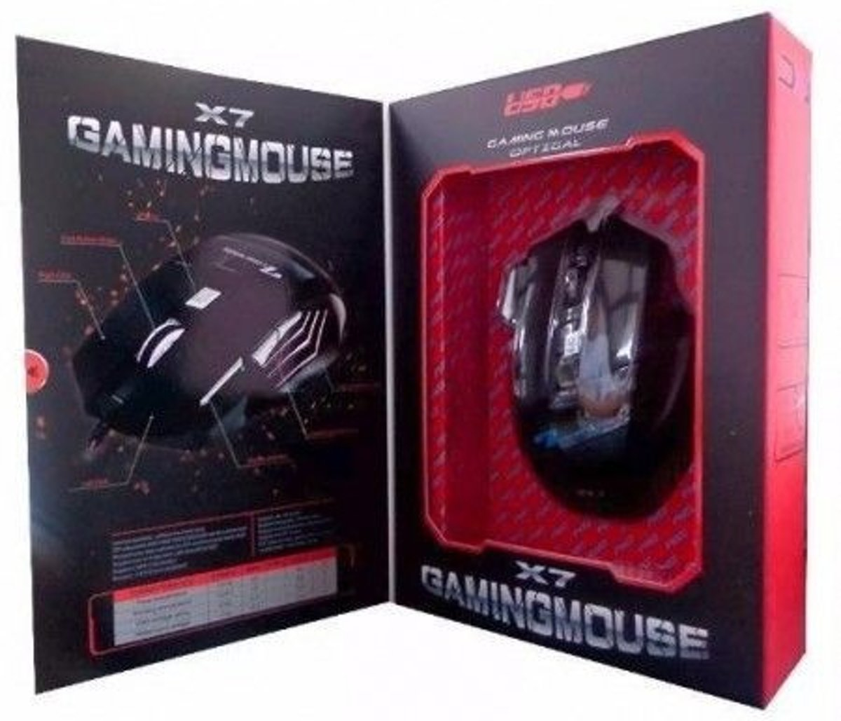 Weibo X7 Optical Gaming Mouse