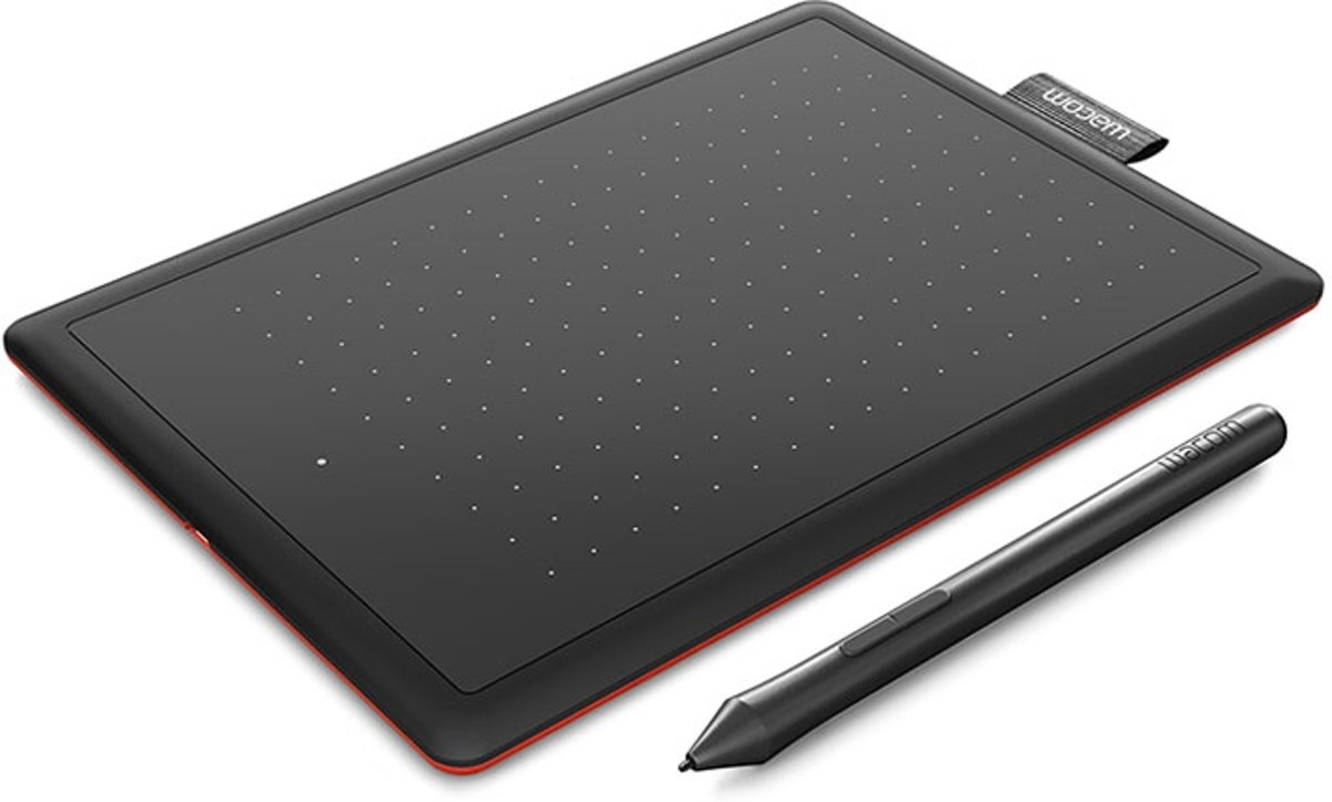 One by Small 2540lpi 152 x 95mm USB Zwart grafische tablet
