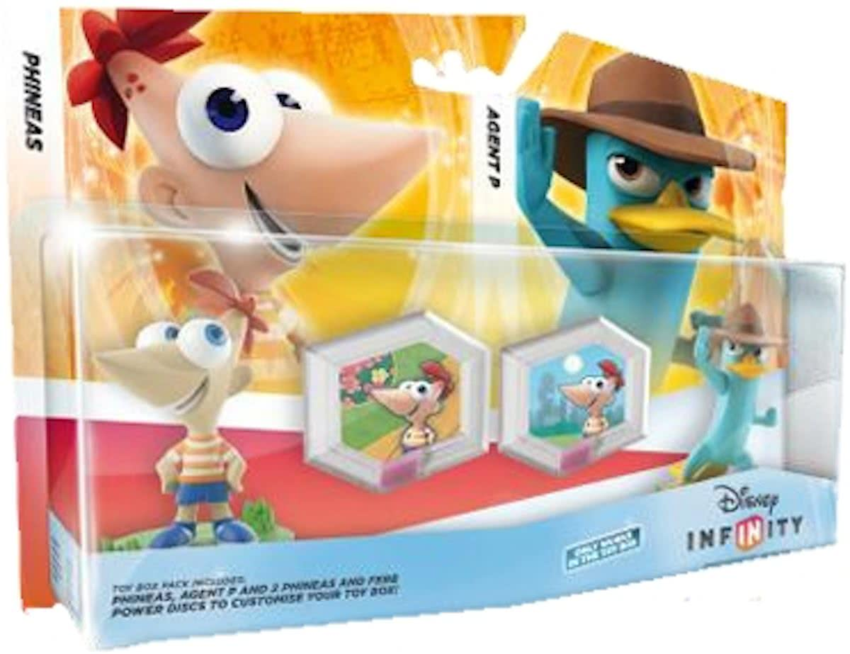 Disney Infinity Phineas Ferb Speelset Agent P, Phineas 3DS + Wii + Wii U + PS3 + Xbox 360