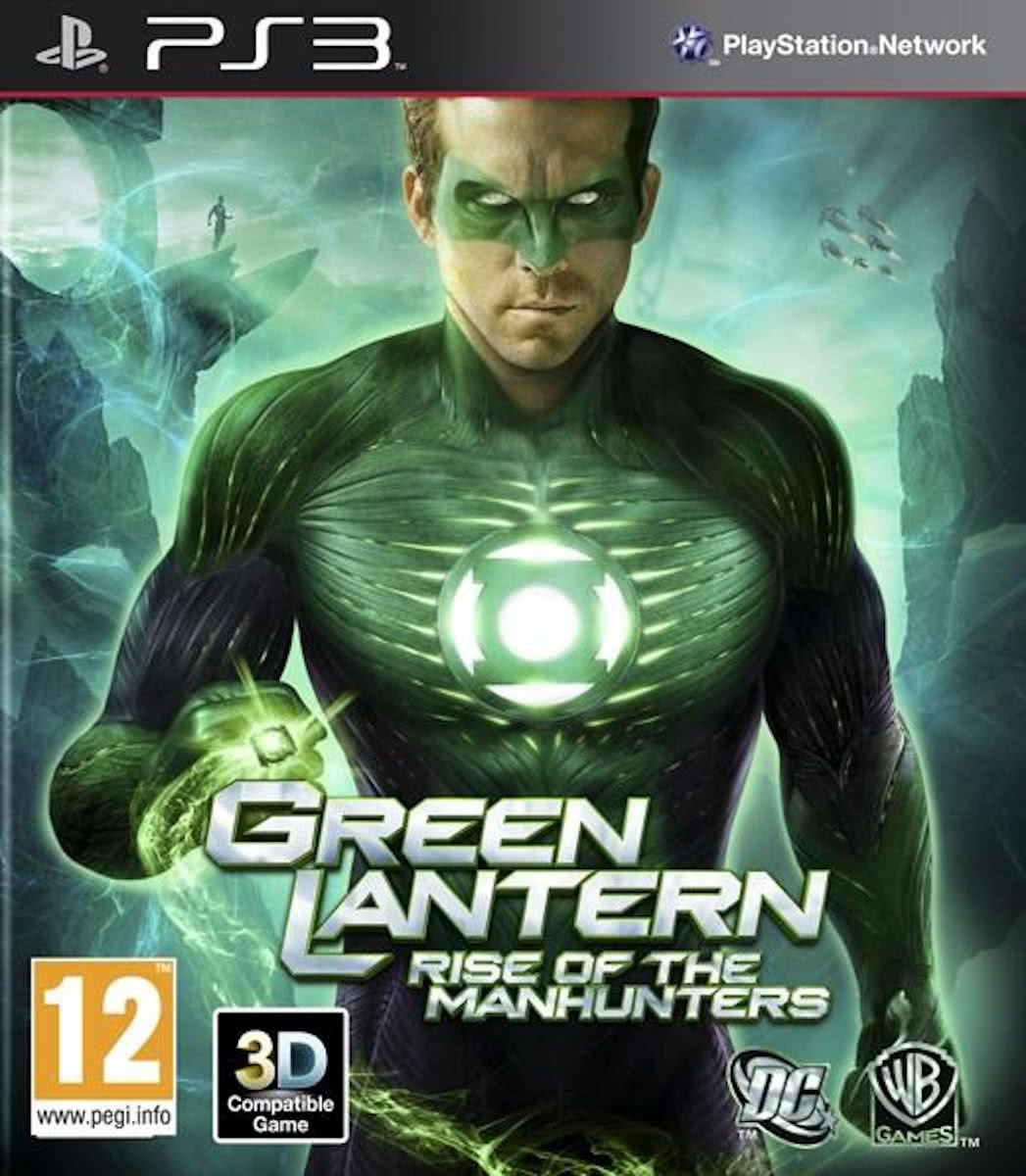 Green Lantern, Rise of the Manhunters PS3