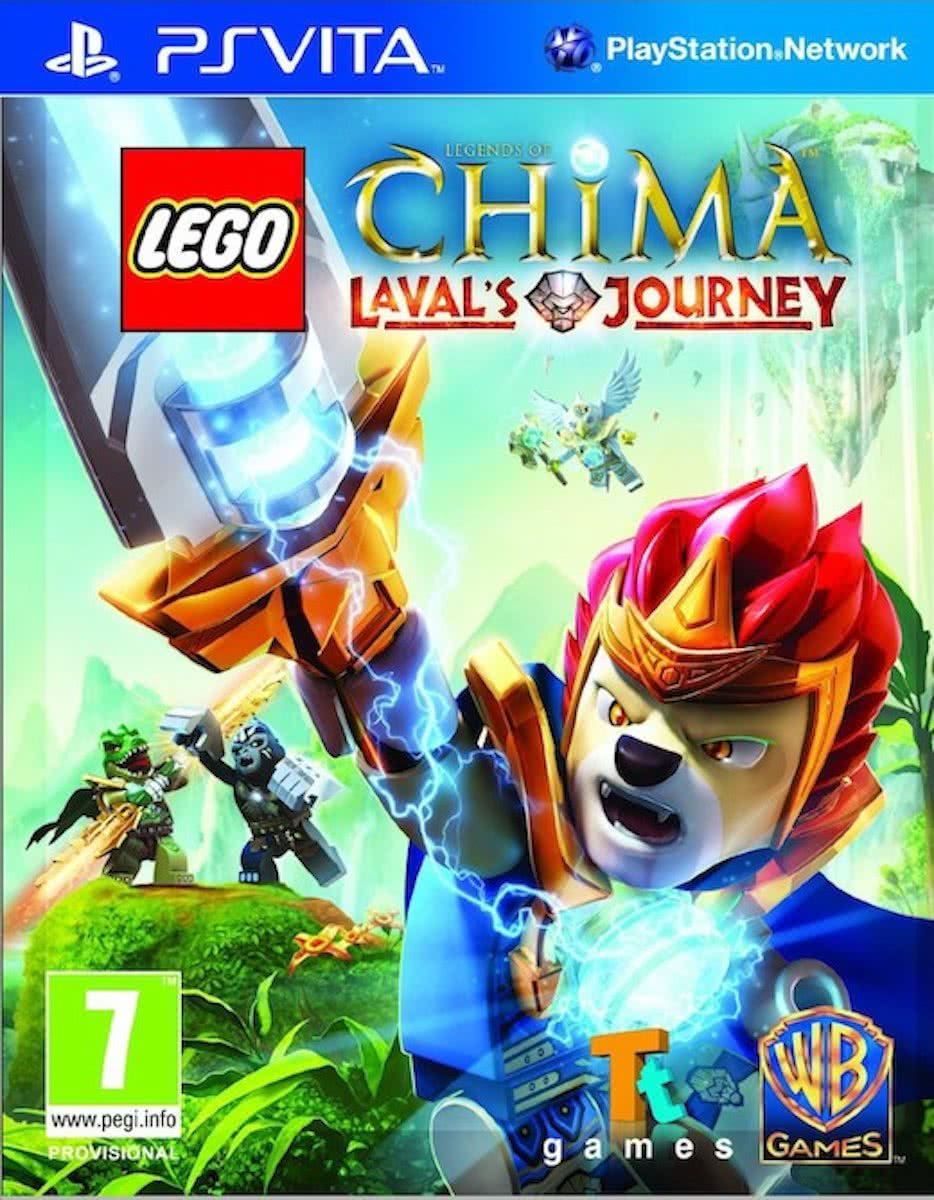 LEGO Legends of Chima: Lavals Journey - PS Vita