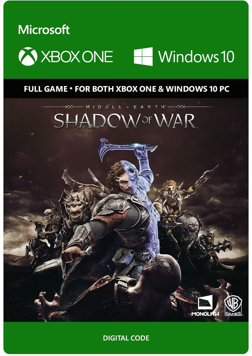 Middle Earth: Shadow of War - Xbox One / Windows 10