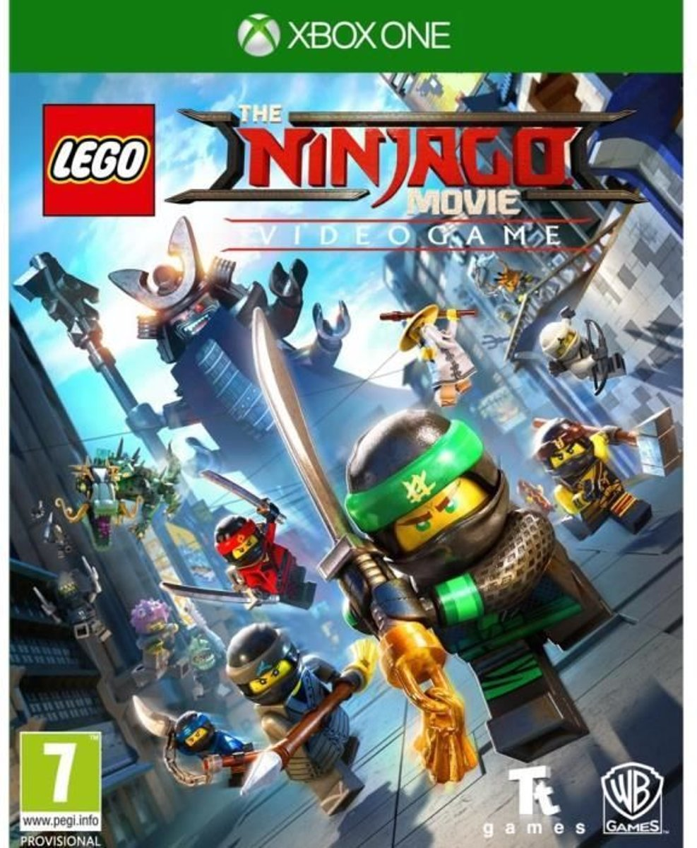 Lego Ninjago, The Movie: The Video Game op Xbox One