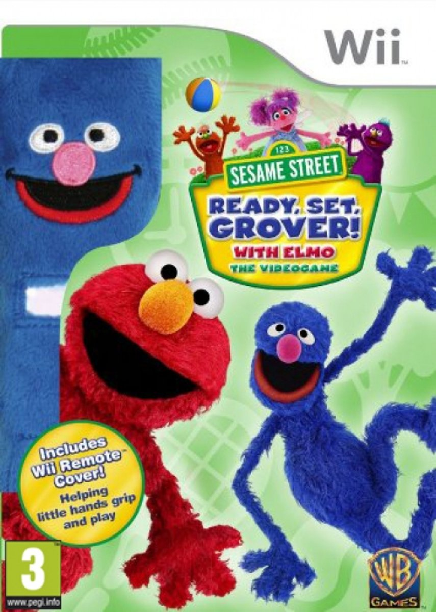 Sesame Street: Ready, Set, Grover! (incl. Wii Remote co...