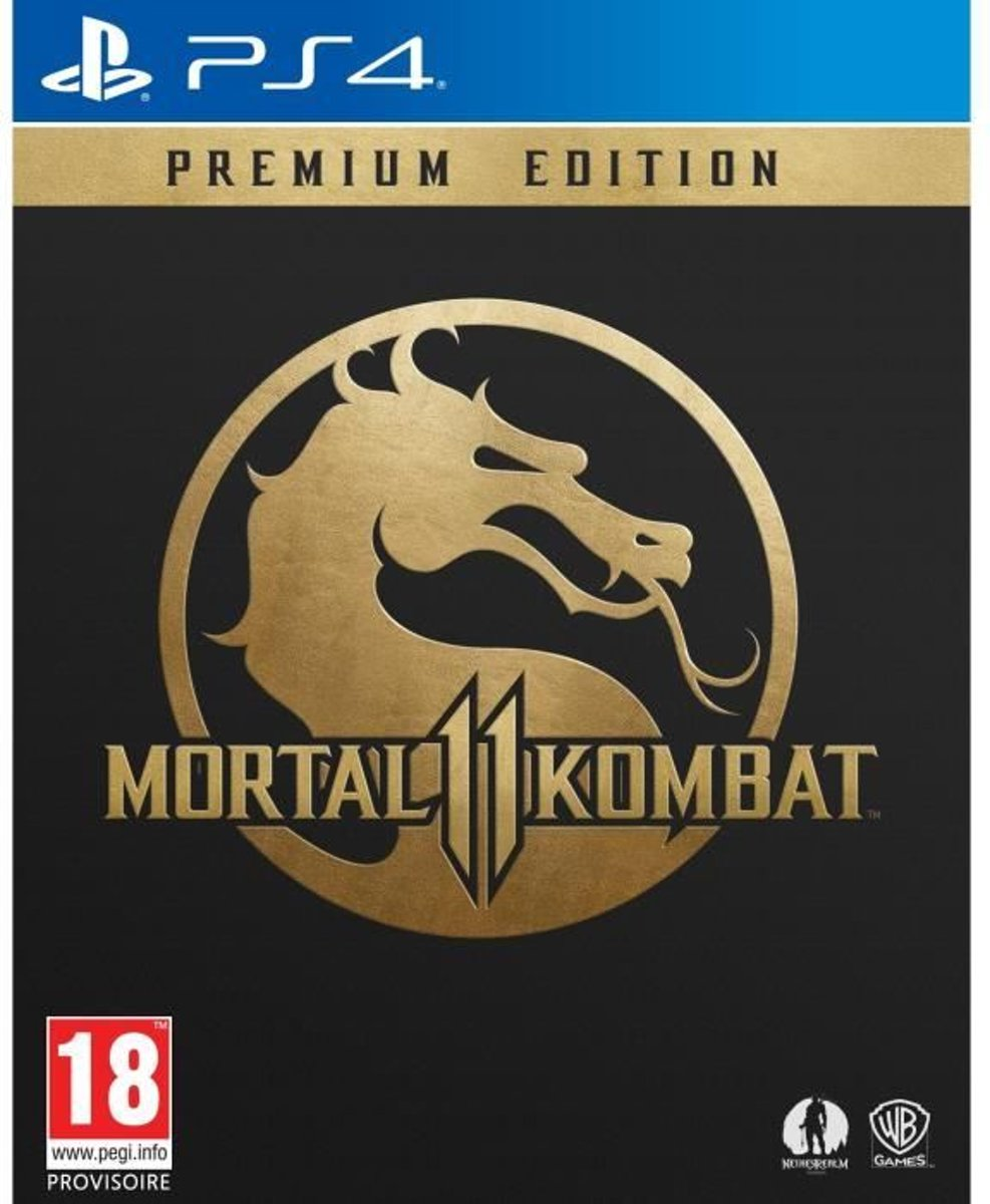 Mortal Kombat 11 Premium Edition PS4-game