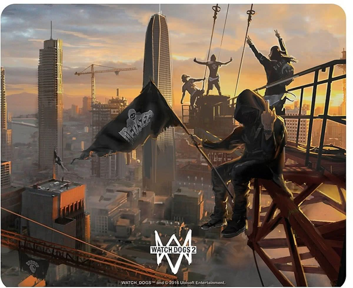 WATCH DOGS - Mousepad - Dedsec