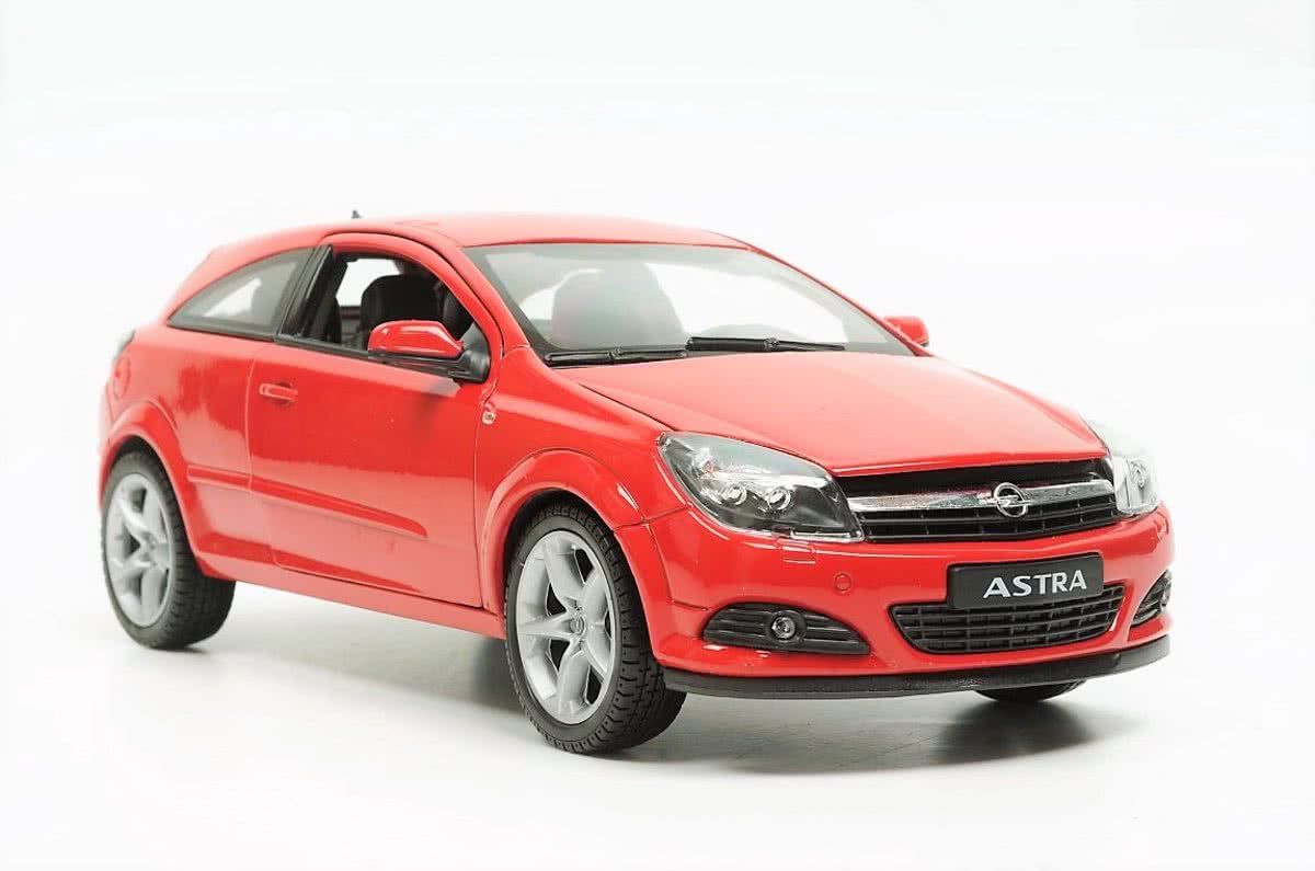 Welly Opel Astra GTC 2005 Rood 1/18