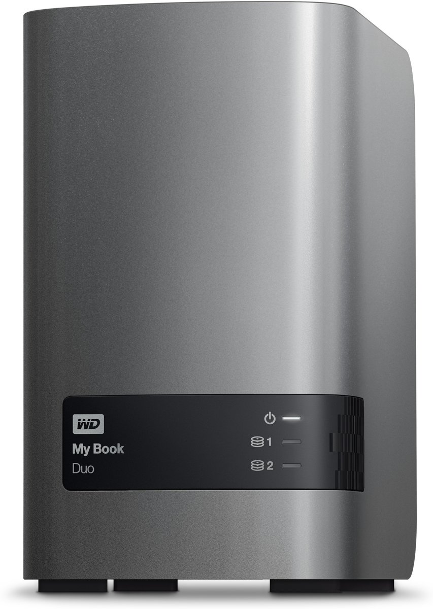 WD Book Duo - Externe harde schijf - 4 TB