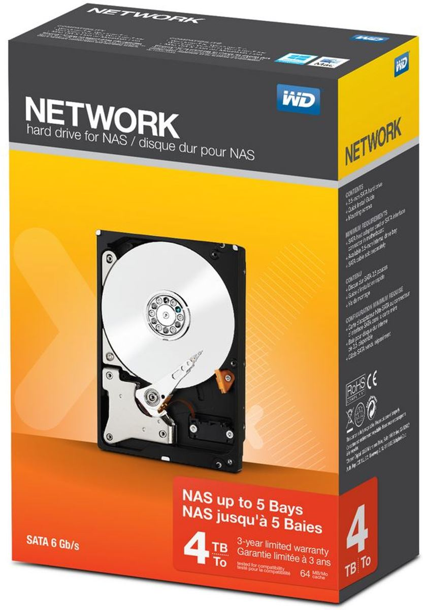 WD Network -   - 4 TB