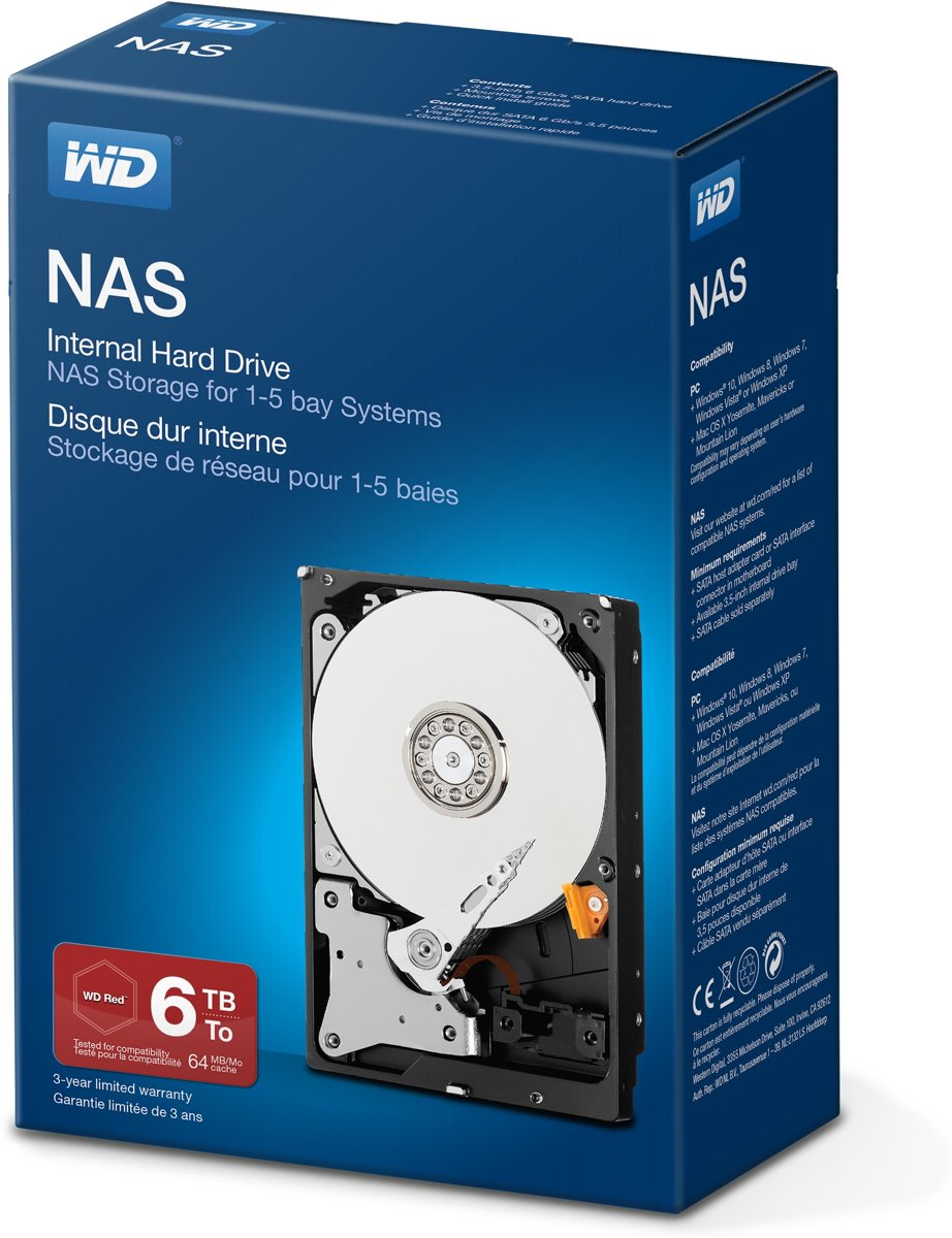 WD Network -   - 6 TB