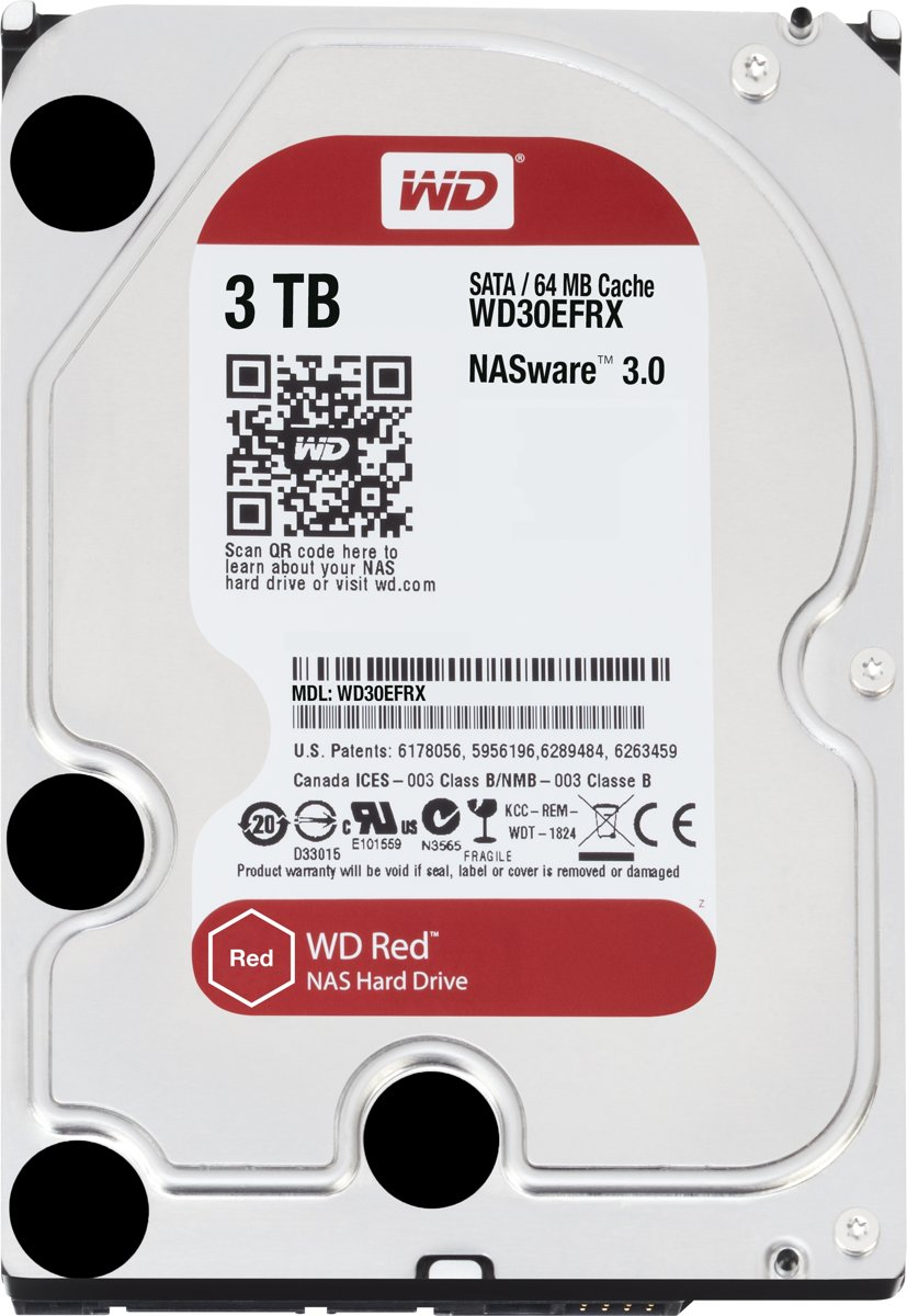 WD Red -   - 3 TB