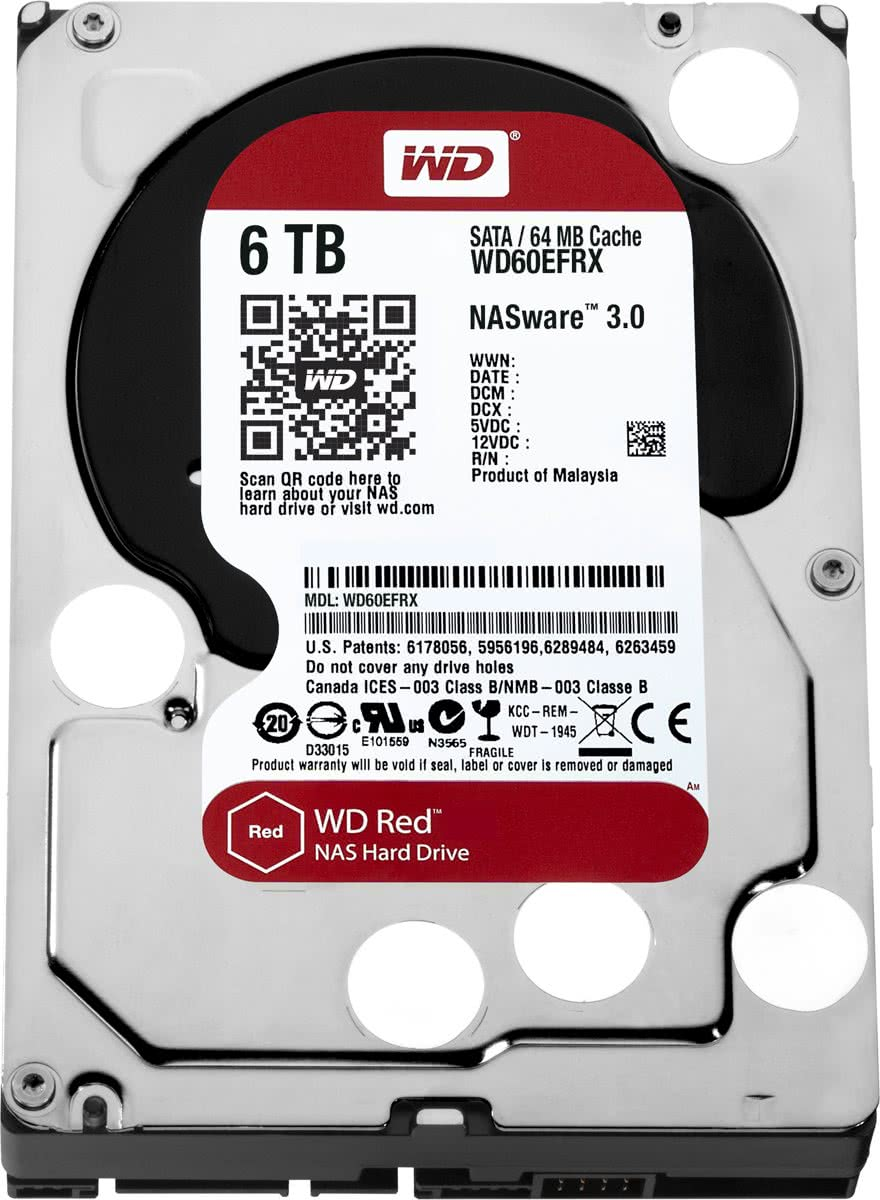 WD Red -   - 6 TB