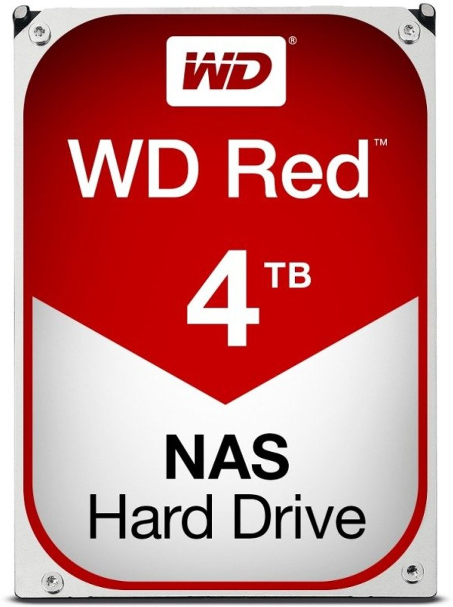 WD Red 4TB WD40EFRX NAS harde schijf