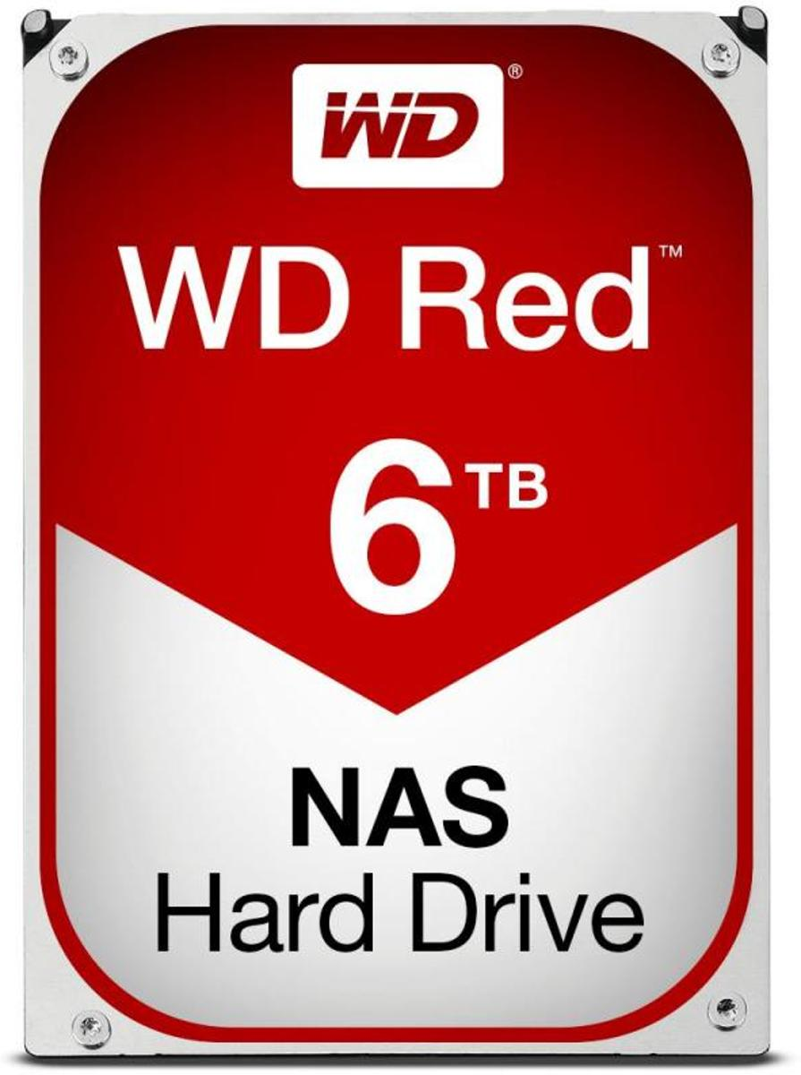 WD Red 6TB WD60EFRX NAS harde schijf