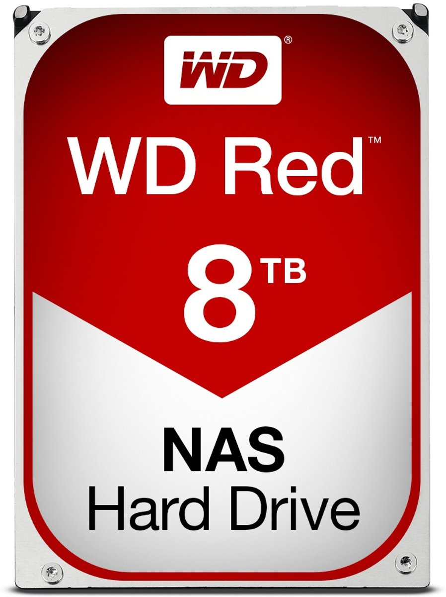 WD Red 8TB WD80EFAX NAS harde schijf