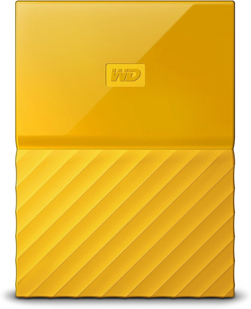 Western Digital My Passport externe harde schijf 2000 GB Geel