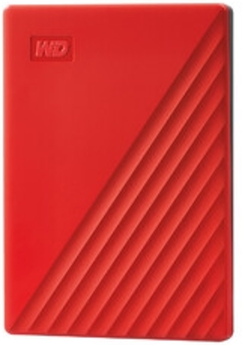 My Passport externe harde schijf 4000 GB Rood
