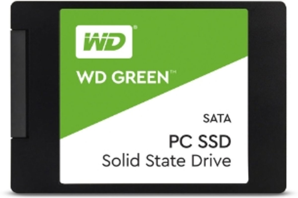 Western Digital WD Green internal solid state drive 2.5 480 GB SATA III SLC