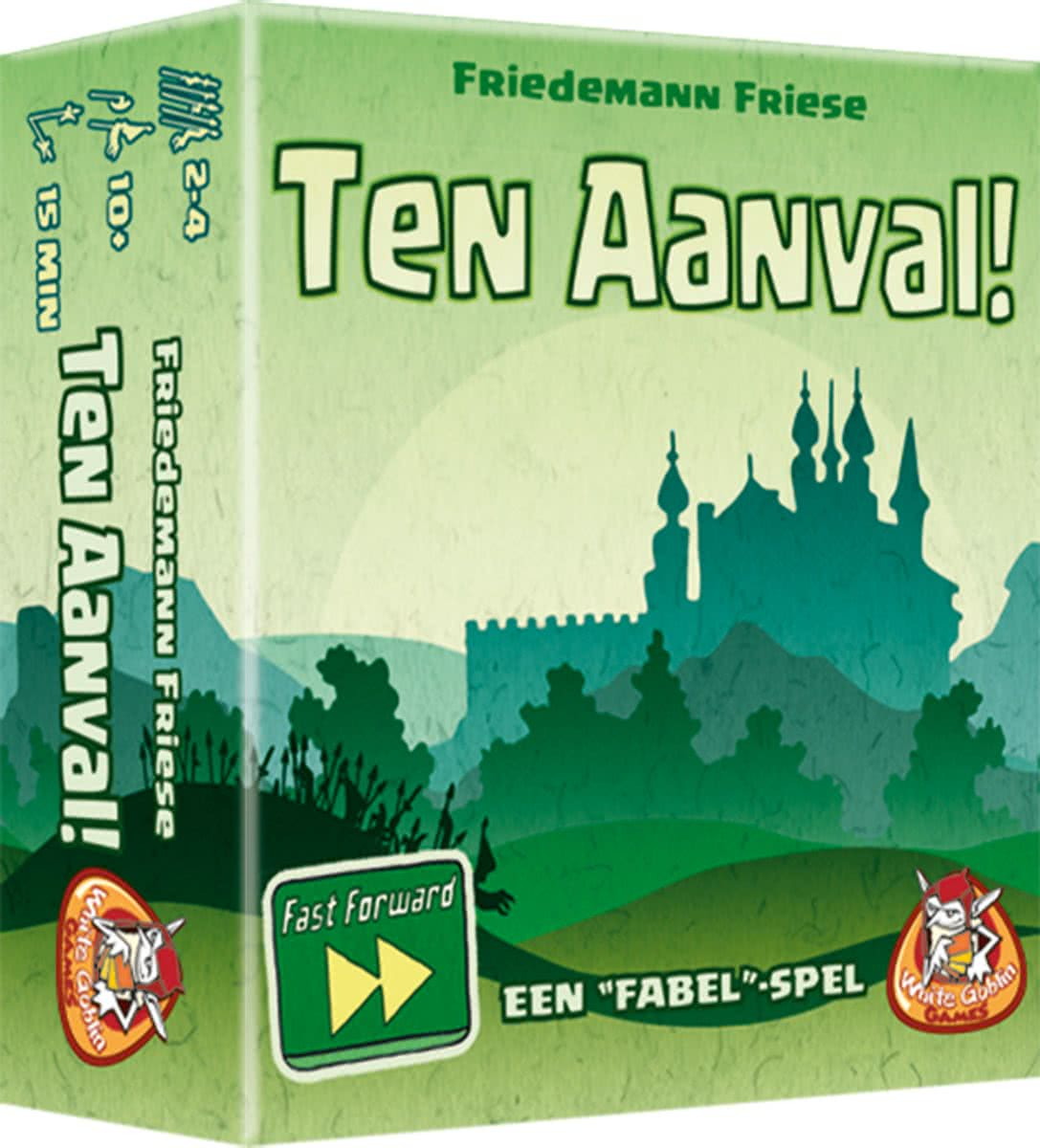 Fast Forward: Ten Aanval!