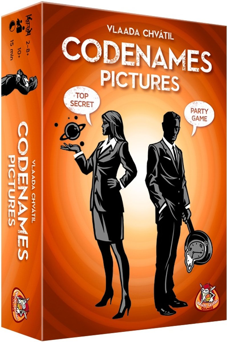 White Goblin Games Bordspel Codenames Pictures Xxl