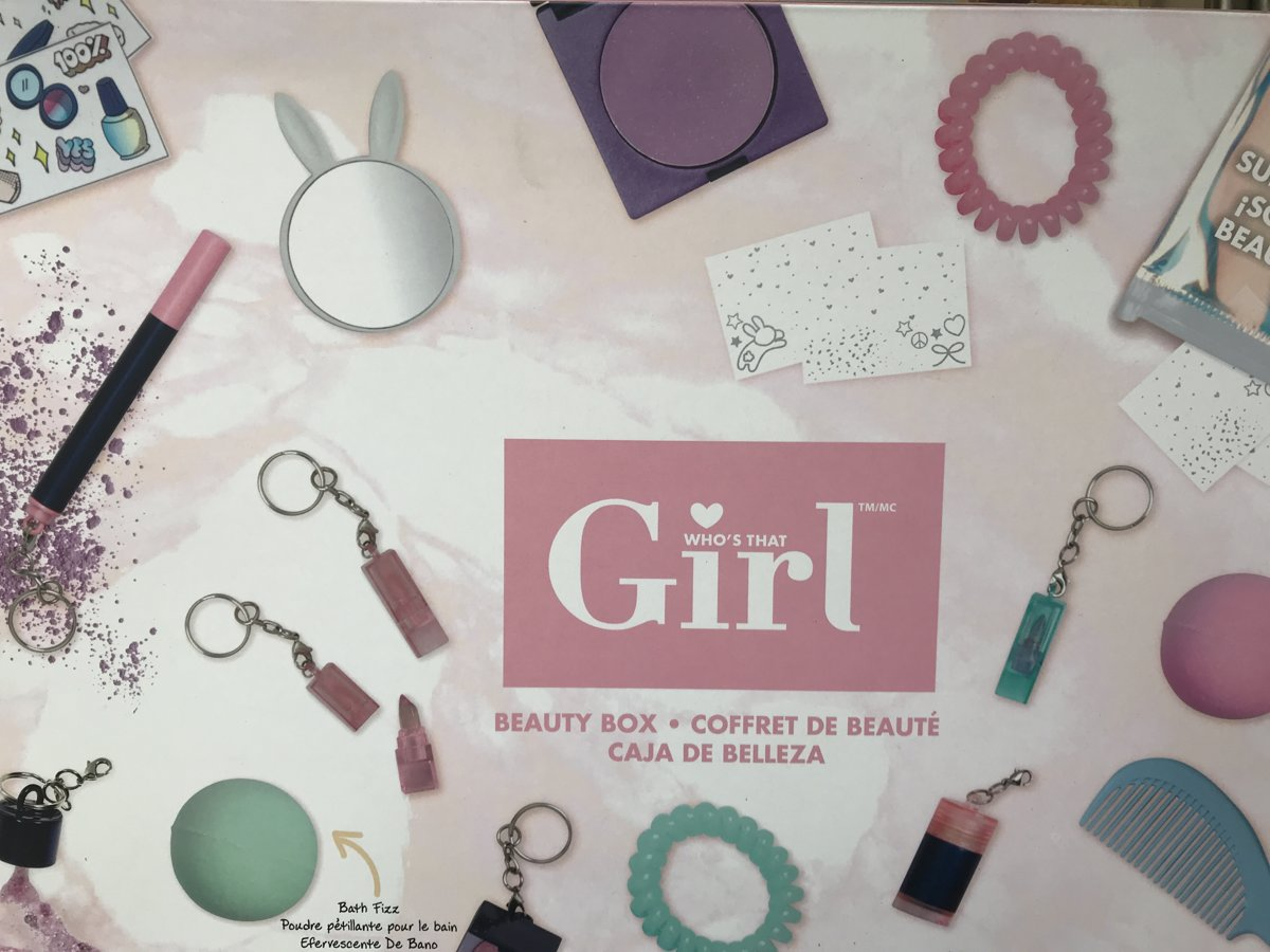 Whos That Girl Beauty Box - Speelgoedmake-up