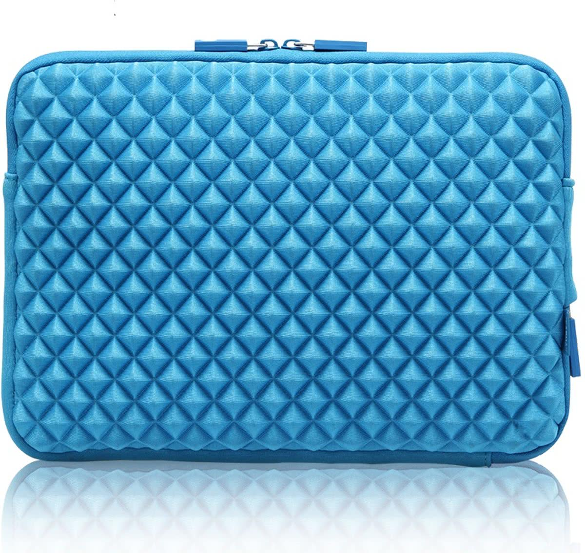 Diamond Sleeve Laptop / Tablet 12 inch - Blauw