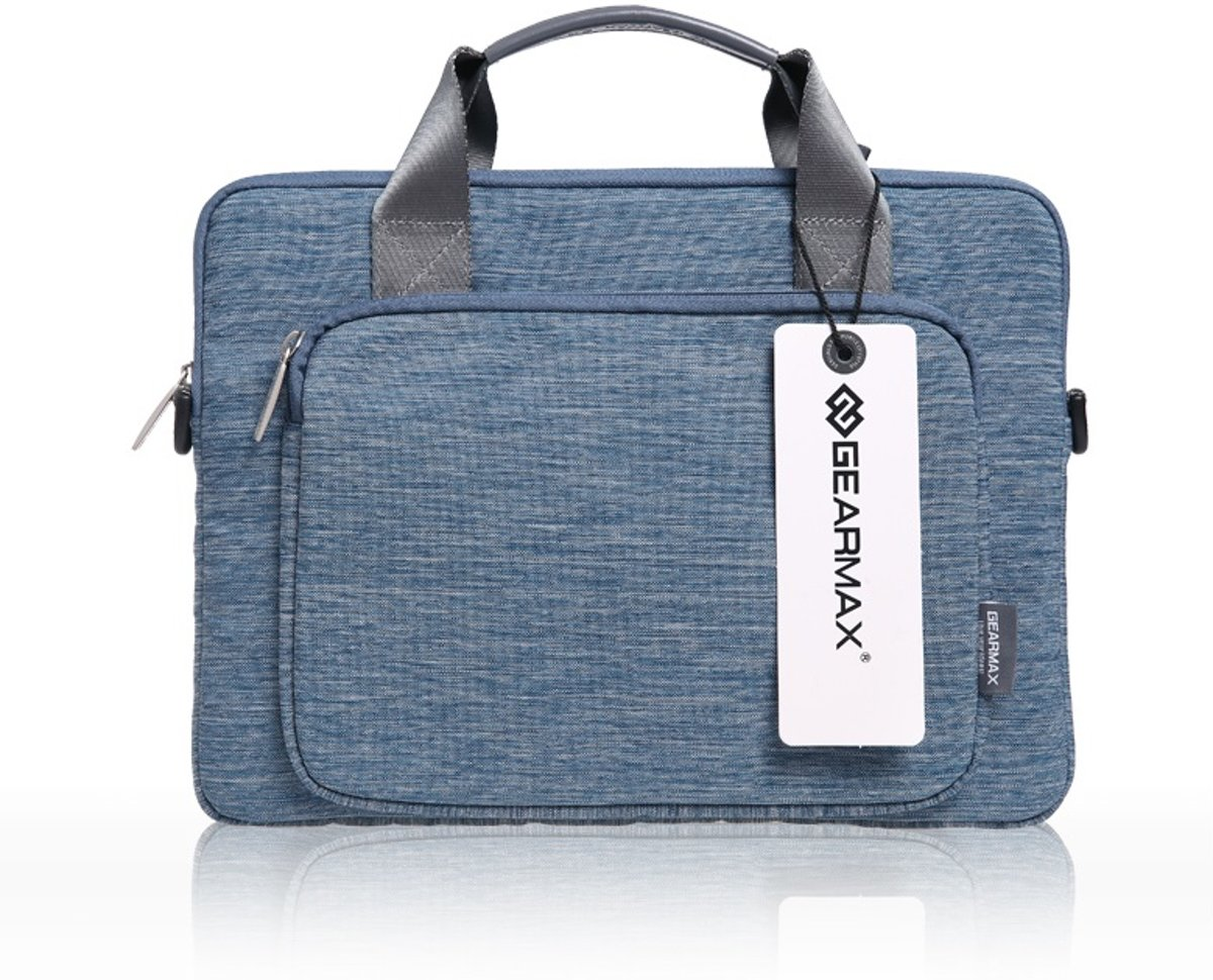 Gent Carrying Case Schoudertas / Laptoptas 13 inch - Blauw