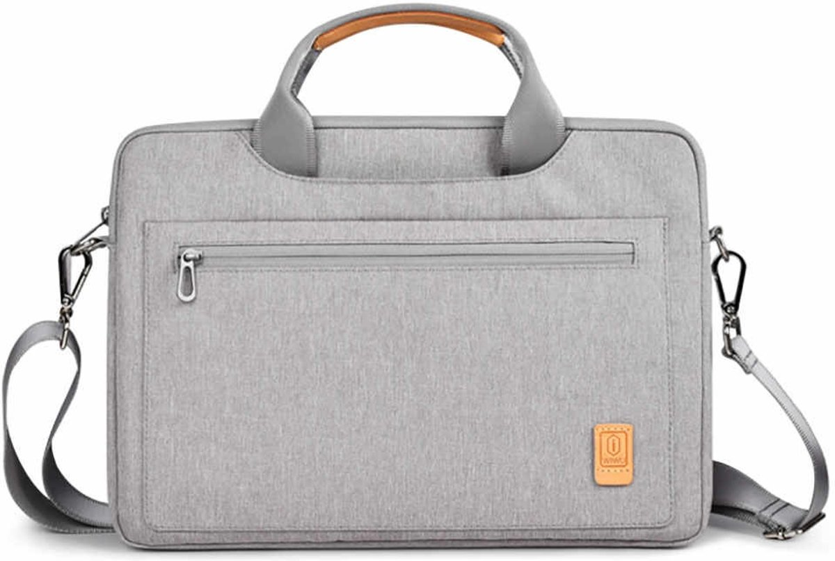Laptoptas voor 15.4 inch laptop - WIWU Pioneer Shoulder - Grijs
